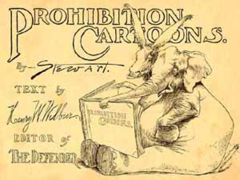 Prohibition cartoons