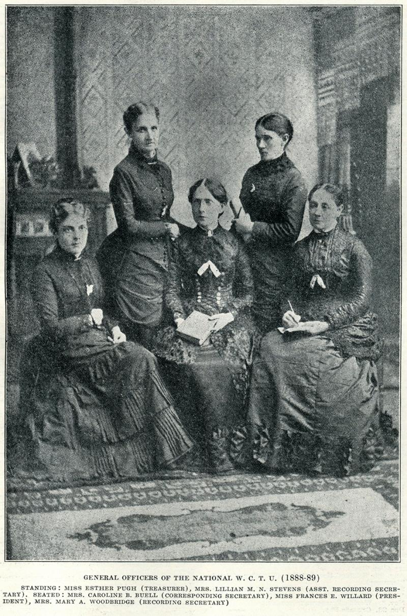 Woman's Christian Temperance Union 1888-1889