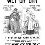 Wet or Dry, a poster by the American Issue Publishing Co., Westerville, OH