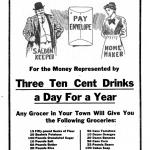Which Needs it Most?, Wet or Dry, a poster by the American Issue Publishing Co., Westerville, OH