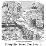 Stop the Waste, a poster by the American Issue Publishing Co., Westerville, OH